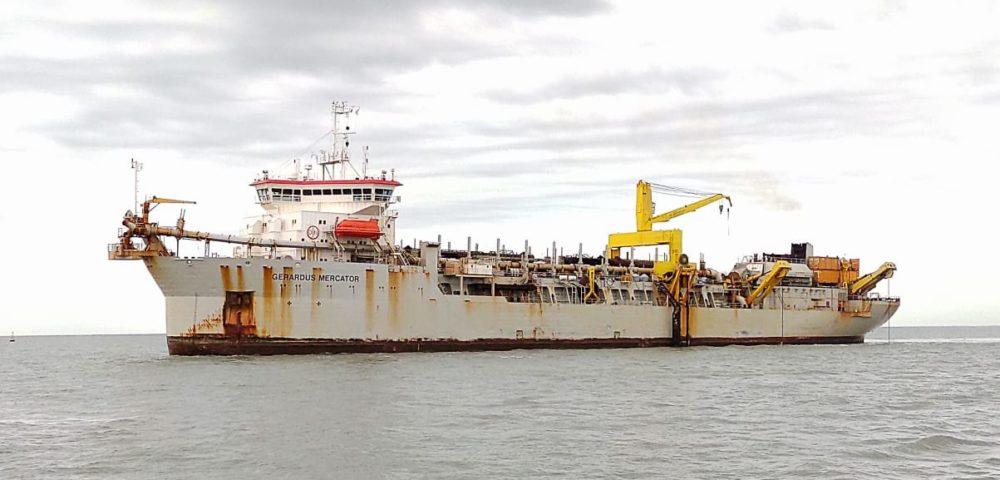 Dragado en los puertos de Ingeniero White, Galván, Rosales y la Base Naval Puerto Belgrano.<br></noscript></noscript><img class=