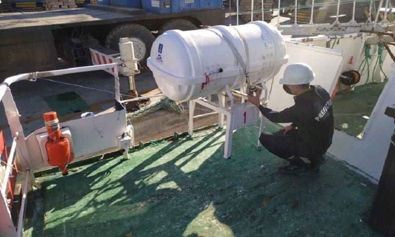 Prefectura elaboró un Informe de Seguridad de la Navegación sobre resultados de la Campaña de Inspecciones Concentradas (CIC) sobre la flota pesquera de altura 2021<br></noscript></noscript><img class=