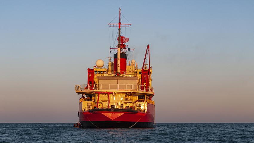 El rompehielos Irízar regresó al Apostadero Naval Buenos Aires<br></noscript></noscript><img class=